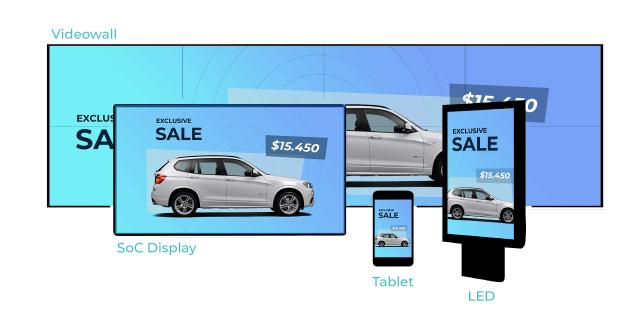 Navori - solução multiplataforma para Digital Signage